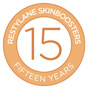 15 years of Restylane skin boosters.