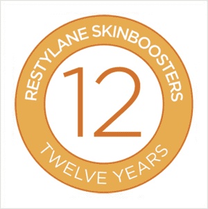 Restylane Skinboosters 12 Years